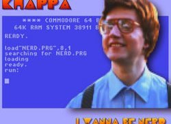 Khappa MJ - I wanna be Nerd cover 250x250
