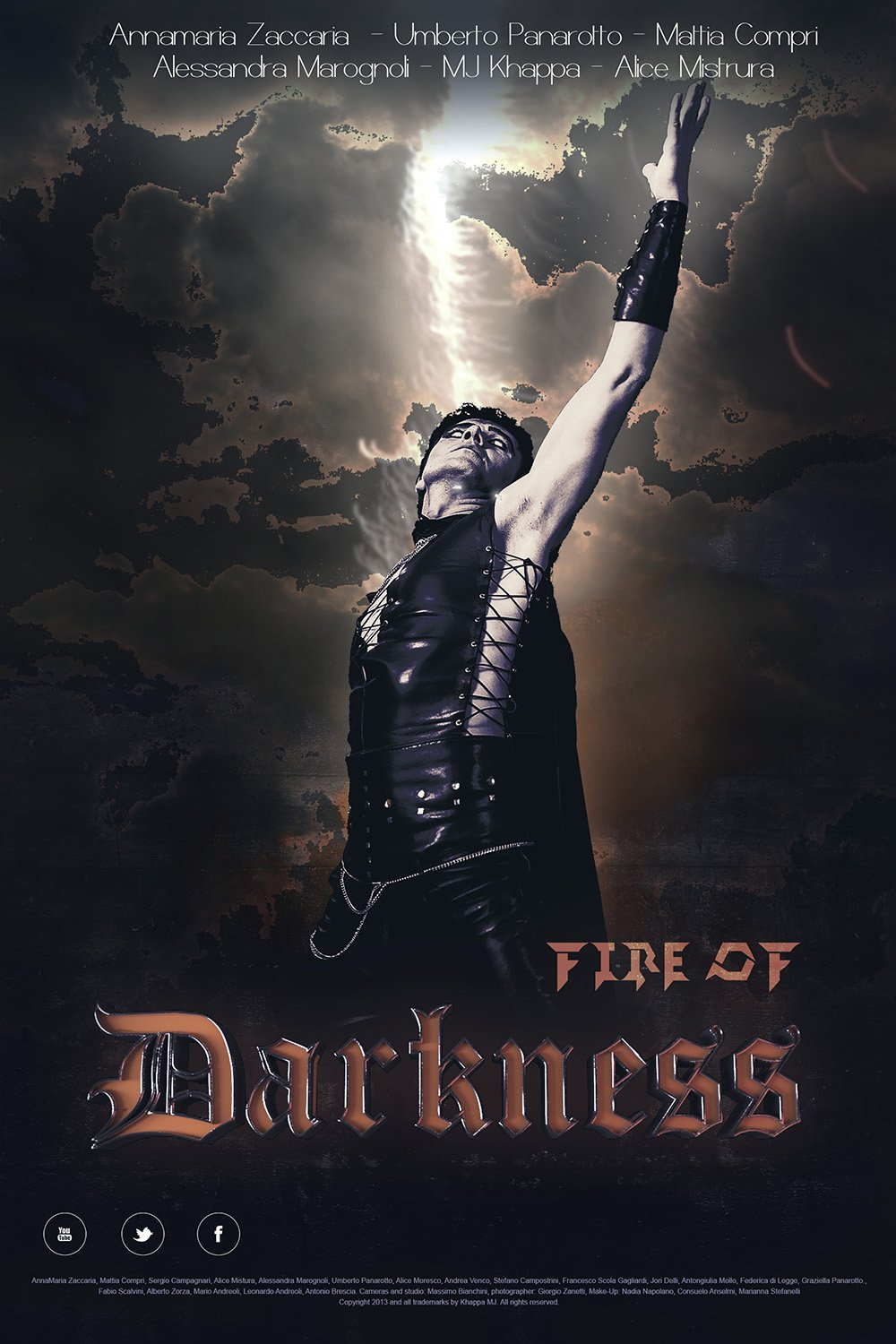 Fire of Darkness fantasy/drama movie