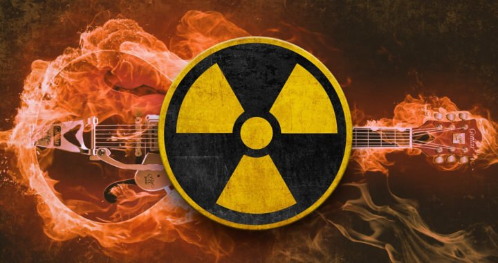 Industrial Radiation Rock Guitar